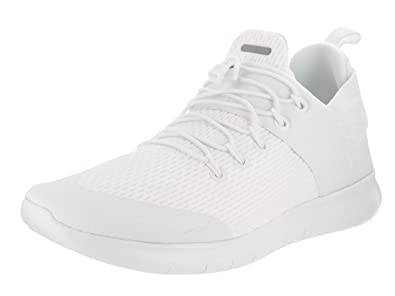 white nike running shoes men