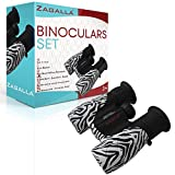 Binoculars for Kids – Bird Watching Hiking Hunting Camping Wildlife – Kids Binoculars Nature and Living Explorers – High Resolution Shockproof – Compact for Adults Teens 3 year old boy or girl gifts Review