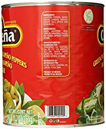 La Costena Pickled Sliced Jalapeno Peppers, Green, 93 Ounce