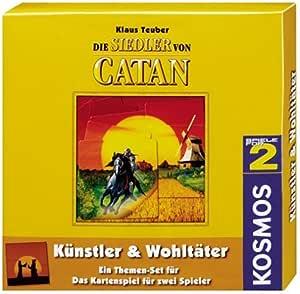 Kosmos 6938240 Die Siedler von Catan: Künstler & Wohltäter: Amazon.es: Electrónica