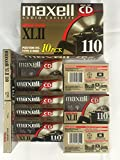 Maxell C110 Cassette XLII Box of 10