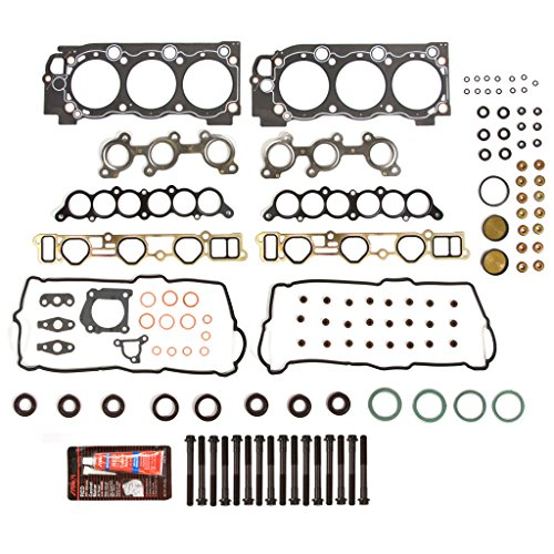 Evergreen HSHB2034 Cylinder Head Gasket Set Head Bolt