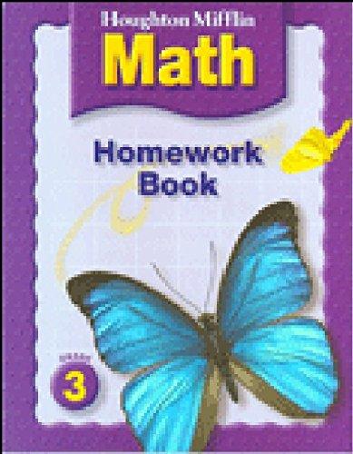 Houghton Mifflin Mathematics: Homework Book Consumable, Level 3 PDF