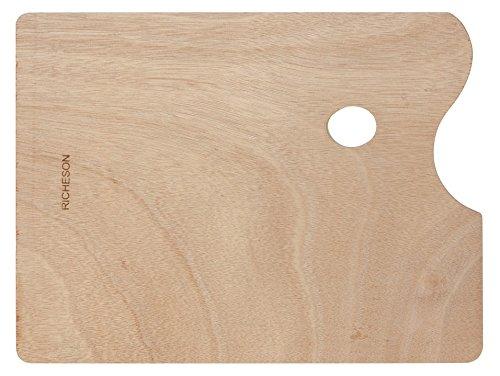 - Jack Richeson 696026 Wooden Rectangular Palette, 12