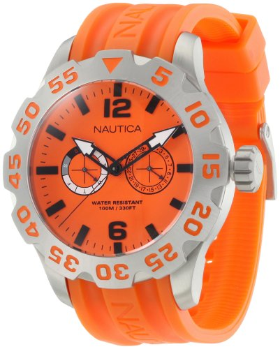 Nautica Men's N16606G Bfd 100 Multi Watch