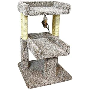 New Cat Condos 110215 Large Cat Play Perch, Large, Neutral 74