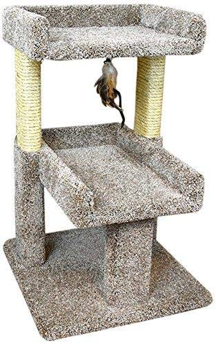 Cheap New Cat Condos 110215 Large Cat Play Perch, Large, Neutral