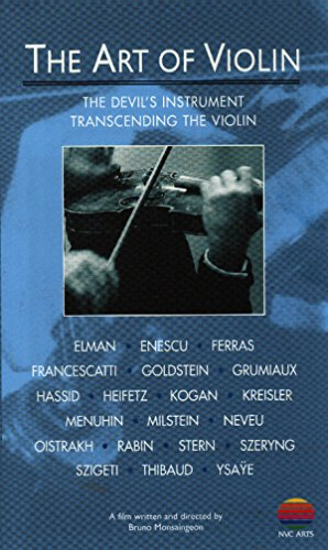 Amazon.com: The Art of Violin: The Devil's Instrument & Transcending the  Violin [VHS]: Bruno Monsaingeon: Movies & TV