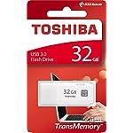 Toshiba-Hayabusa-Pendrive-32GB-Chiavetta-USB-30-Bianco