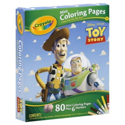Toy Story Coloring Pages (Disney Toy Story Mini Coloring)