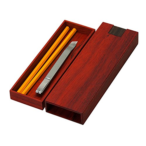 MISCELLANEOUS HOMES Pencil case wood (Burmese Rosewood)