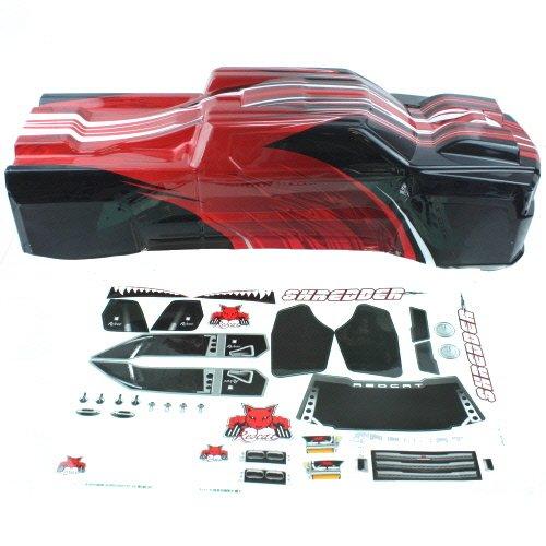 Redcat Racing Shredder Body, Red/Black