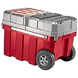 Keter New Masterloader Plastic Portable Rolling Organizer Tool Box Storage Solution