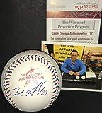 Michael Brantley Cleveland Indians Autographed Signed 2017 All Star Baseball JSA WITNESS COA