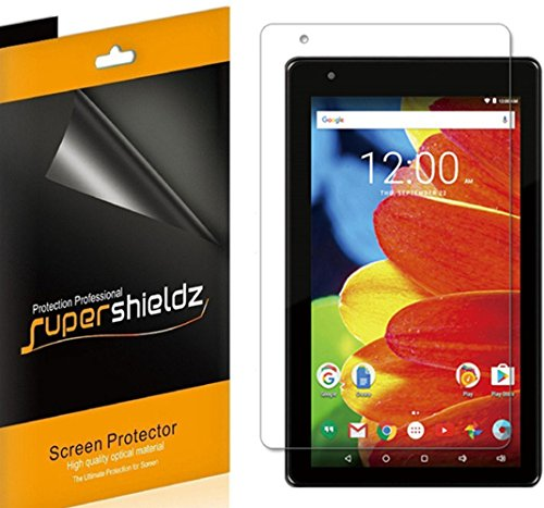 [3-Pack] Supershieldz for RCA Voyager 7 inch Tablet 16GB Quad Core (RCT6873W42, RCT6773W42BF, RCT6773W22BF) Screen Protector, Anti-Bubble High Definition Clear Shield + Lifetime Replacements Warranty (Protector Rca Tablet For 7 Screen)