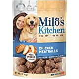 Milo'S Kitchen Chicken Meatballs Dog Treats, 3-Ounce, 12-Pack