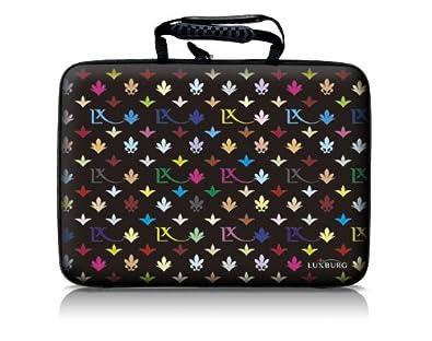 cc02710e16 Luxburg® design hardcase sacoche housse rigide pour ordinateur portable  14,2 pouces, motif