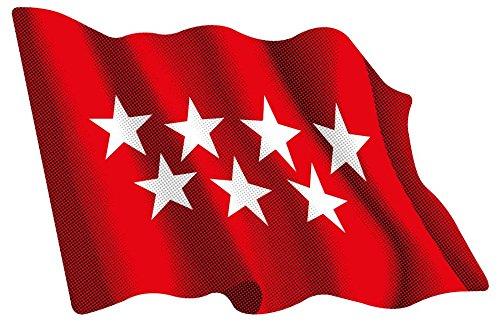 Cantabria Resina 16x11 mm//ud. Artimagen Pegatina Bandera Rect/ángulo 9 uds