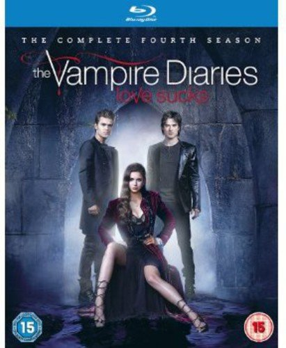 Blu-ray : The Vampire Diaries: The Complete Fourth Season (Blu-ray)