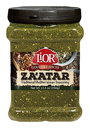 Lior Gourmet Spices Zaatar Mediterranean Seasoning KFP 12.3 Oz. Pk Of 3.