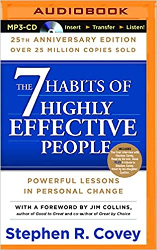 The 7 Habits Of Highly Effective People 25th Anniversary Edition