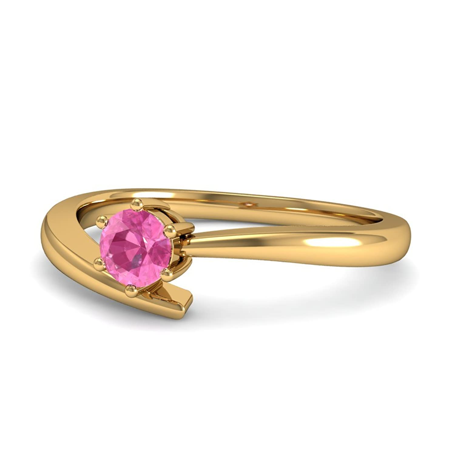 online ring buy store dp bluestone gold amaryllis india yellow in prices amazon jewellery pink low and at sapphire