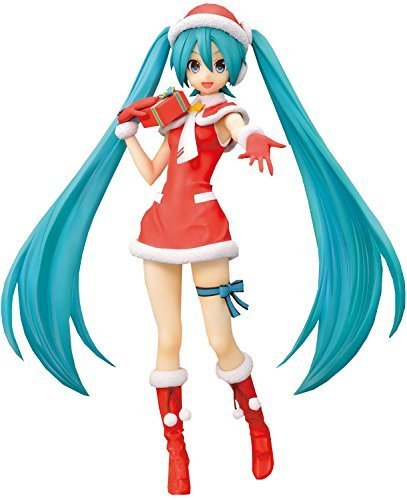 Hatsune Miku Christmas Outfit.Sega Hatsune Miku Project Diva F 2nd Hatsune Miku Christmas Spm Super Premium Figure