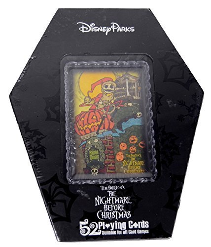 The Nightmare Before Christmas 52 Playing Cards In Coffin