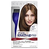 Clairol Nice 'n Easy Root Touch-Up 6G Kit (Pack of 2), Matches Light Golden Brown Shades of Hair Coloring, Includes Precision Brush Tool