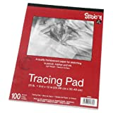 Darice 9-Inch by 12-Inch Tracing Paper, 100-Sheets