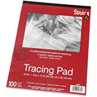 "Darice 9""x12"" Artist's Tracing Paper, 100 Sheets –..."