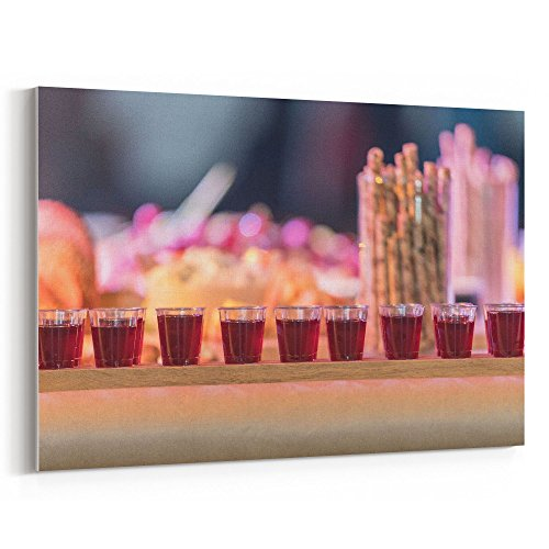 Westlake Art - Wine Bread - 5x7 Canvas Print Wall Art - Canv