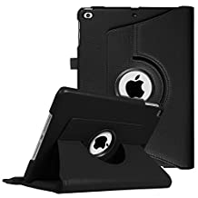 Fintie New iPad 9.7 inch 2017 / iPad Air Case - 360 Degree Rotating Stand Cover with Auto Sleep Wake for Apple New iPad 9.7 inch 2017 Tablet / iPad Air 2013 Model, Black