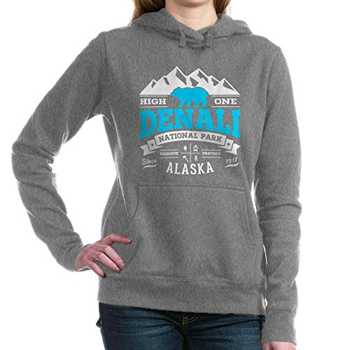 CafePress - Denali Vintage - Pullover Hoodie, Classic & Comfortable Hooded - Jacket Denali Womens Thermal