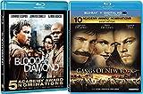 Raw Jewels & Raw Fights Martin Scorsese Blu-ray Gangs of New York & Blood Diamond Leonardo DiCaprio Double Feature 2-Movie Pack