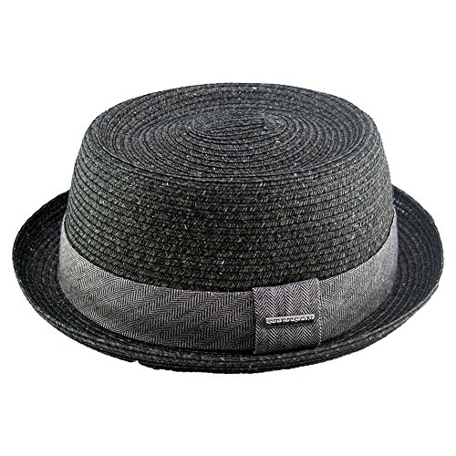 Athens Cotton Pork Pie Hat by Stetson Sun hats Stetson jULyG6M
