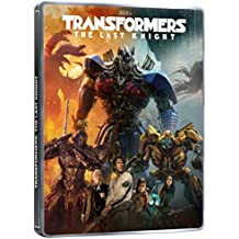 TRANSFORMERS: The Last Knight - STEELBOOK (Blu-ray + Blu-ray Bonus Disc) English, Spanish, French & Portuguese Audio & Subtitles - IMPORT