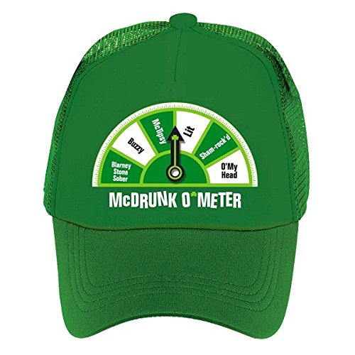 Amscan St. Patrick's Day Green McDrunk O'Meter Hat | Party Accessory]()