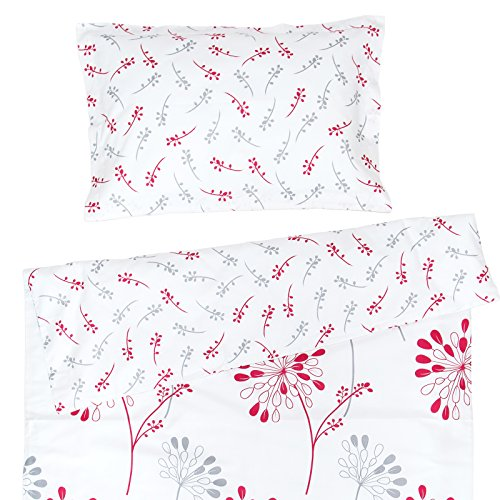 Pati'Chou Isabella Baby cot/Crib 100% Cotton Set (Duvet Cover 39