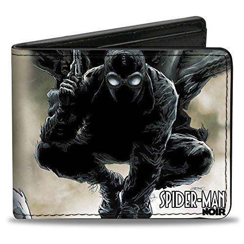 Men'sUltimate Spider-man Wallet Marvel Spider-man Noir Issue #1, -Multi, One Size