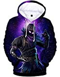 FORTNITE Game Fortress Night Digital Print Sweater 3d Sweater Loose Hoodie Sweater 04, Medium