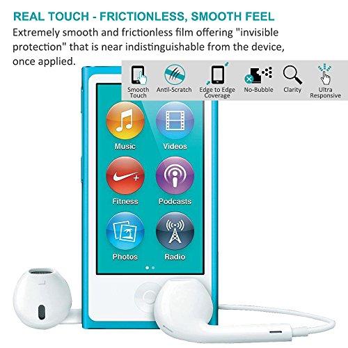 2 Protectores de Pantalla para iPhone 7 Plus con Carcasas Protectora, AFUNTA Un Conjunto de 2 VidrioTemplado Anti-arañazos & 1 Carcasas Fundas Transparente A prueba de Choques para Apple iPhone 7 Plus Pare nano 7