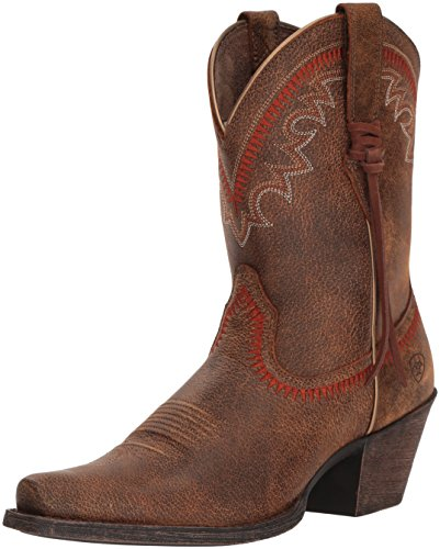 Ariat Dames Round Up Aztec Western Boot Vintage Bomberjack