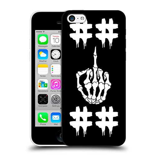Official Been Trill Double Hashtag Skulls Hard Back Case for Apple iPhone 5c