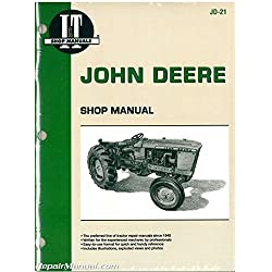 JD-21 John Deere 1010 2010 Tractor Workshop Manual