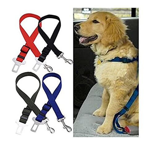 Nailon Mascota Perro Coche Vehículo Asiento De Seguridad Cinturón ...