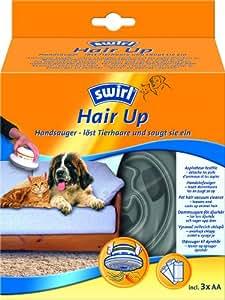 Swirl 196913 Hair-Up - Aspirador de mano para el pelo de animal