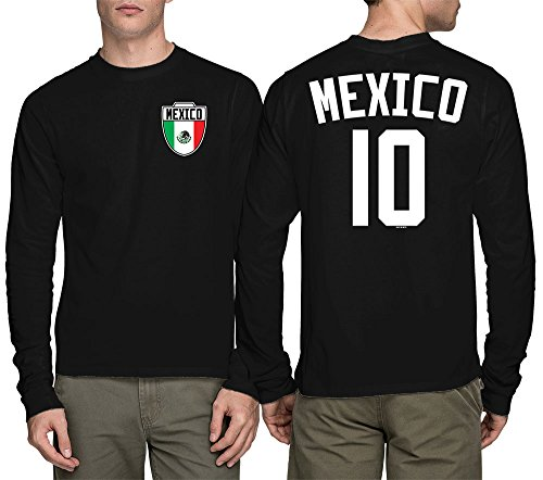 Long Sleeve Mens Mexico Mexican
