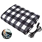 Electric Car Blanket-Car Electric Blanket Electric Car Heating Blanket 12 Volt Great for Cold Weather, Tailgating, and Emergency Kits (43inches*59 inches)