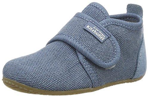 Living Kitzbühel Baby Jungen Babyklett. Jeans Krabbel-& Hausschuhe Blau (Jeans)